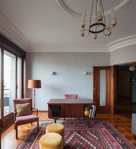Cottage Style Kitchens Designs 3 Dazzling Apartments With Retro Interiors In 1940s Porto
