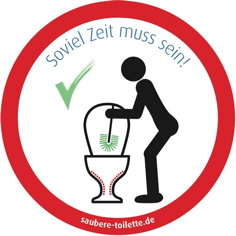 Aufkleber Toilettenordnung by Klob 252 Rste Benutzen Wc B 252 Rste Toilettenb 252 Rste Benutzen