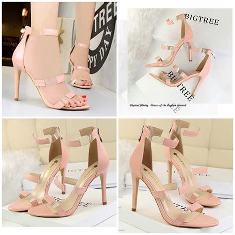 Sepatu Heels Wanita Pesta jual shh52621 pink sepatu heels pesta wanita 10cm