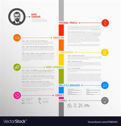 Beaufiful Timeline Resume Photos Infographic Timeline Can Illustrate A Strategy A Workflow Timeline Resume Template