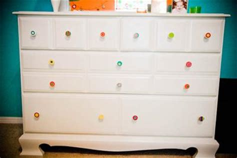Nursery Dresser Knobs by Colorful Baby Nursery
