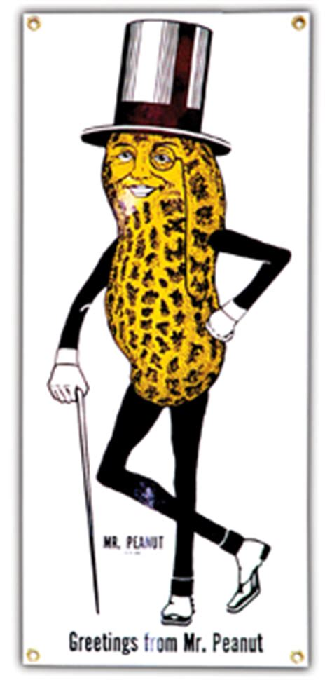 Mr Planter by Character Of The Week Mr Peanut