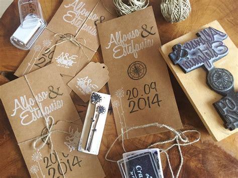 como hacer invitaciones de boda con sellos personalizados y papel kraft how project como hacer invitaciones de boda con sellos personalizados y papel kraft how project