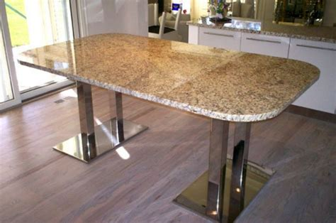 Granite Kitchen Tables 17 Amazing Granite Dining Room Table Designs