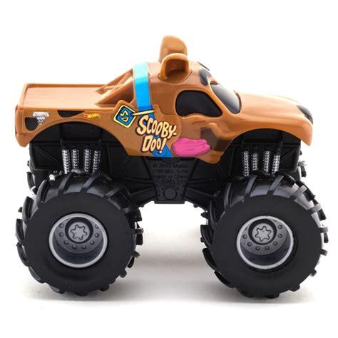 scooby doo monster jam truck toy wheels scooby doo rev tredz truck