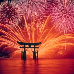 is new year a in japan nifty デイリーポータルz ちょっと見てきて 絶景 宮島水中花火大会