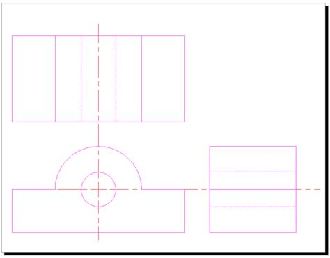 autocad tutorial notes pdf orthographic projection