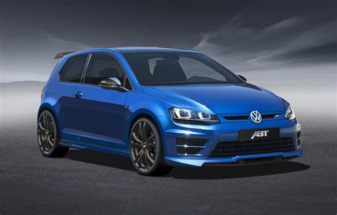 volkswagen golf modified abt volkswagen golf 7 r modified autos world blog