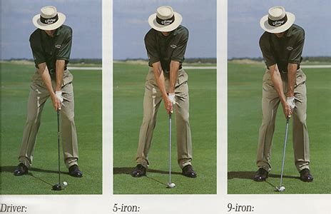 golf swing arm position address setup