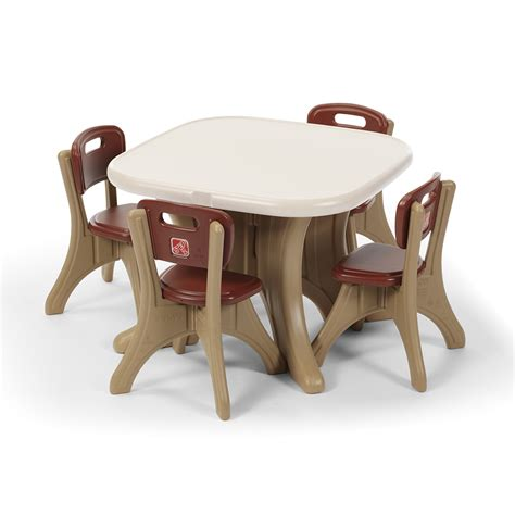step2 new traditions table and chair set new traditions table and four chairs set step2