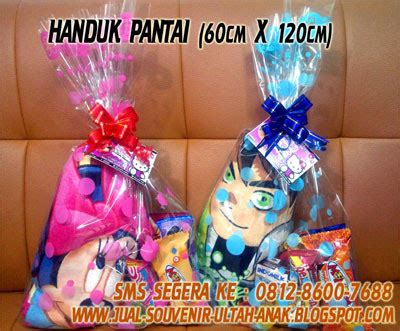 Handuk Karakter Besar Handuk Murah Kado Hadiah jual souvenir bingkisan hadiah kado ulang tahun anak