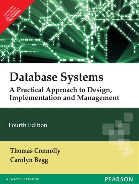 Database Systems Practical Approach To Design Implementation Managemnt books databases database management database management database systems a
