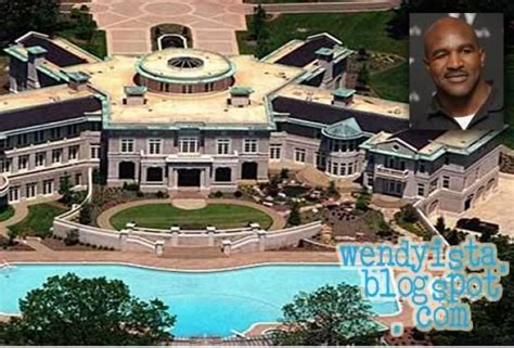 evander holyfield house top 20 celebrities that couldn t manage their money