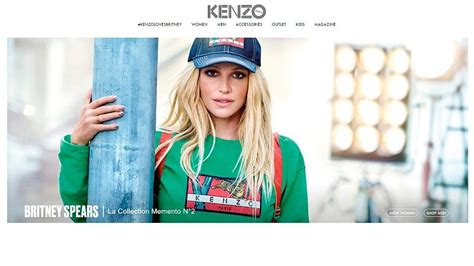 Britneys New Dude Were Growing by Lands Major Fashion Caign With Kenzo