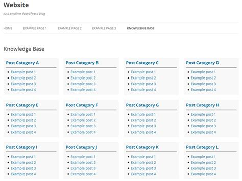 website templates for knowledge base an overview of wordpress wiki knowledge base plugins