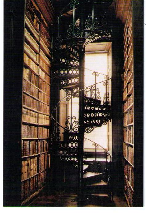 library staircase books library staircase trinity college window image