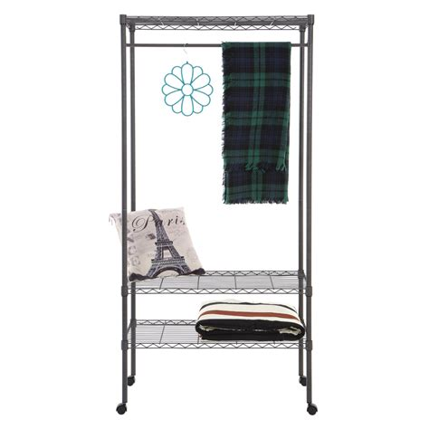 home storage rack movable clothes rack garment rack with