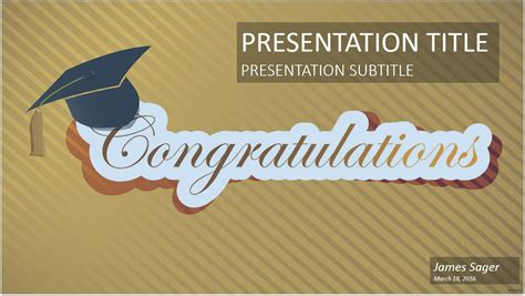 ppt templates for graduation free download graduation cap powerpoint template 5895 free graduation