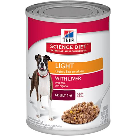 science diet light cat food hill s 174 science diet 174 light with liver dog food canned