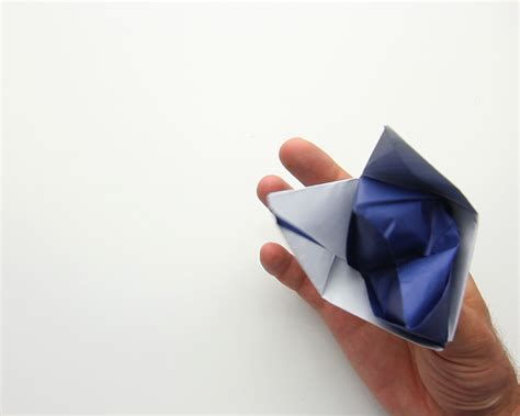 Origami Puppet - how to make an origami puppet 12 steps with pictures