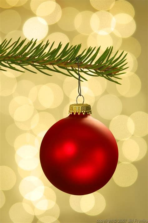 christmas tree ornaments abstract image  background