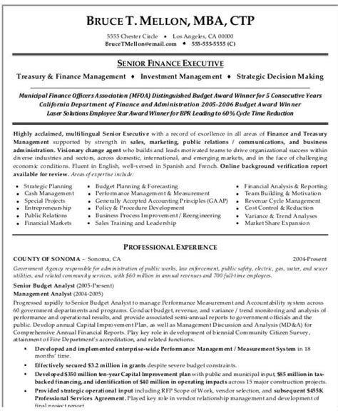 resume format for experienced finance professionals 25 finance resumes in pdf free premium templates