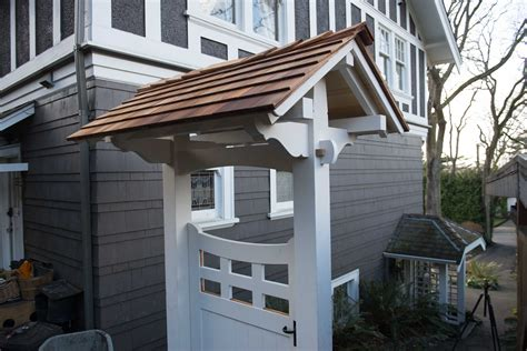 building  covered gate pt   samurai carpenter