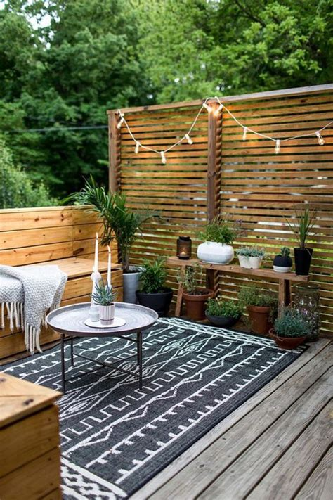 modern bohemian garden style  small backyard homemydesign