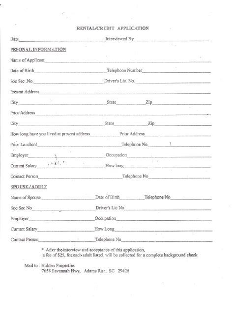 apartment rental application pdf archive apartment rental application apartment