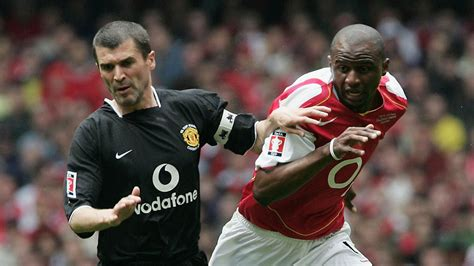arsenal manchester united roy keane vs patrick vieira the bitter rivalry behind