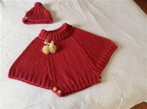 Poncho Para Ni A En Crochet Y Agujas Circulares Tricot | poncho para ni 241 a manos creativas pinterest ponchos