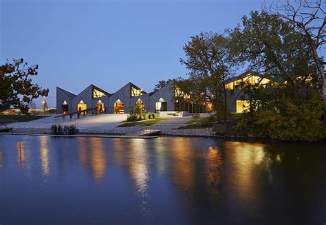boat house chicago studio gang architects unveil stunning sawtooth roofed boathouse in chicago studio