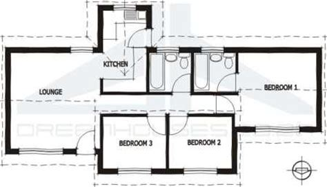 3 Bedroom House To Buy In by South 3 Bedroom House Plans