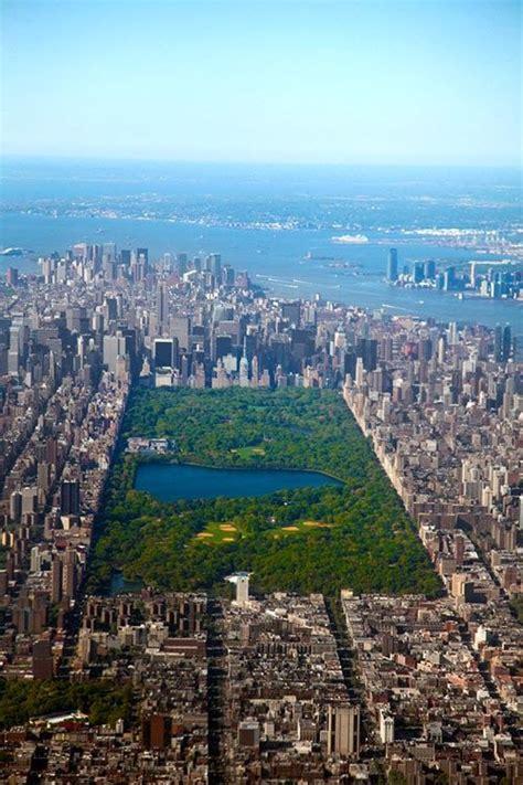 N Y Top top view central park manhattan new york city a r o u n