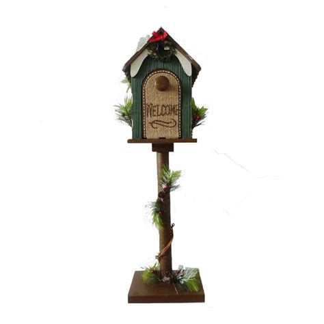 trim a home christmas decorations trim a home 174 24 quot wooden welcome christmas mailbox seasonal christmas indoor decor