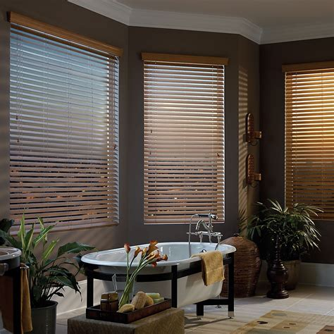 2 1 2 quot deluxe faux wood blinds blindster