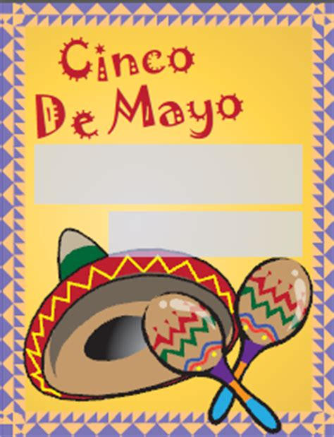 Cinco De Mayo Printable Cards free cinco de mayo labels and cards printable pdf