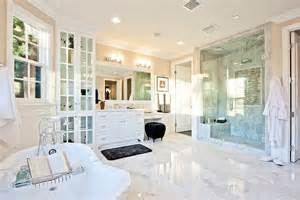 White Master Bathroom Ideas by 10 Luxury White Master Bathrooms You Will Love To Have