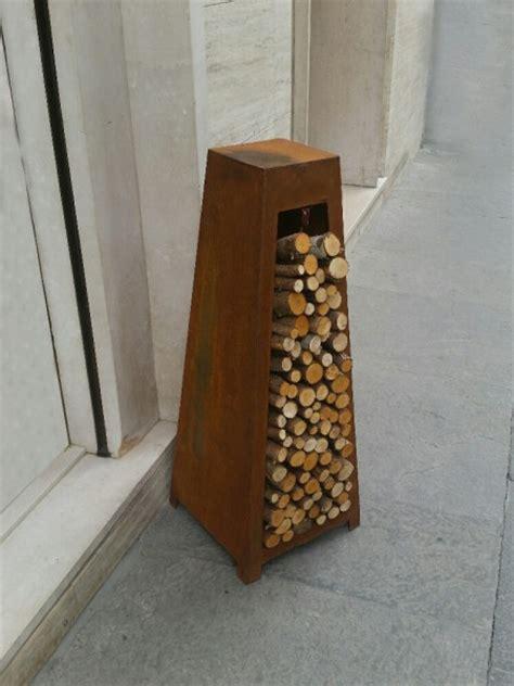 cassetta porta legna porta legna da esterno srl arredamenti metallici e