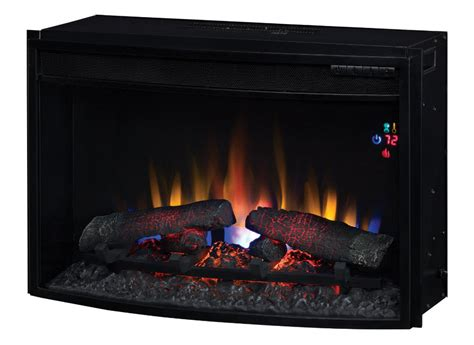 26 quot classicflame spectrafire curved electric fireplace