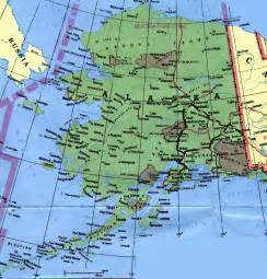 us map where is alaska alaska map and alaska satellite images