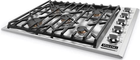 viking gas cooktop 30 inch viking vgsu5305bssng 30 inch gas cooktop with scratchsafe
