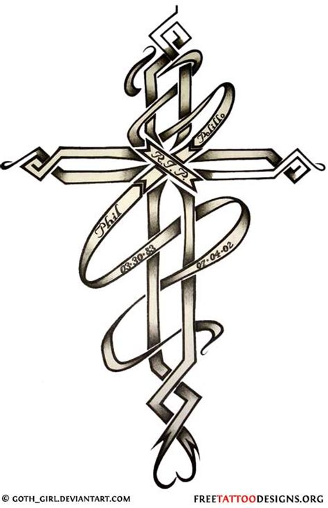 free cross tattoo designs cross gallery