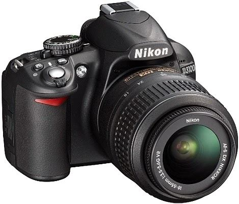 Kamera Dslr Nikon D3100 Lensa 18 55 Vr kamera dslr untuk pemula alfin