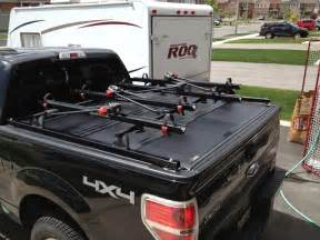 Tonneau Cover Racks F150 Help Bakflip G2 Or Any Folding Cover With Bike Rack