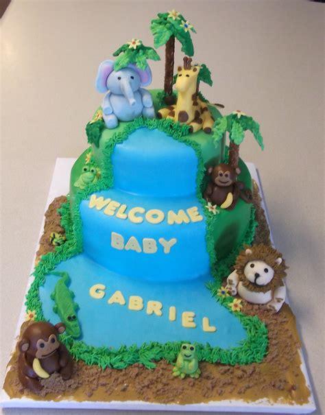 Baby Shower Cakes Safari Theme by Safari Cakes Decoration Ideas Birthday Cakes