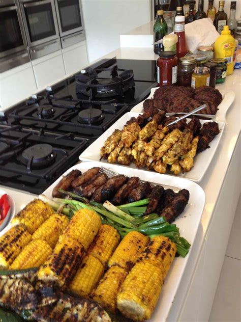 grilling recipes u cookout menu party and themed menus