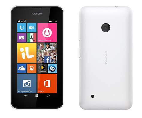 Nokia Lumia Rm 1030 T Mobile Rm 1030 Lumia 530 White Gsm Windows Smartphone Cell Phone Other
