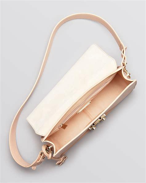 Furla Cevro Single Bag 6110 2 furla shoulder bag metropolis small in brown lyst