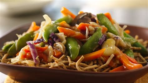 easy vegetable chow mein recipe from betty crocker